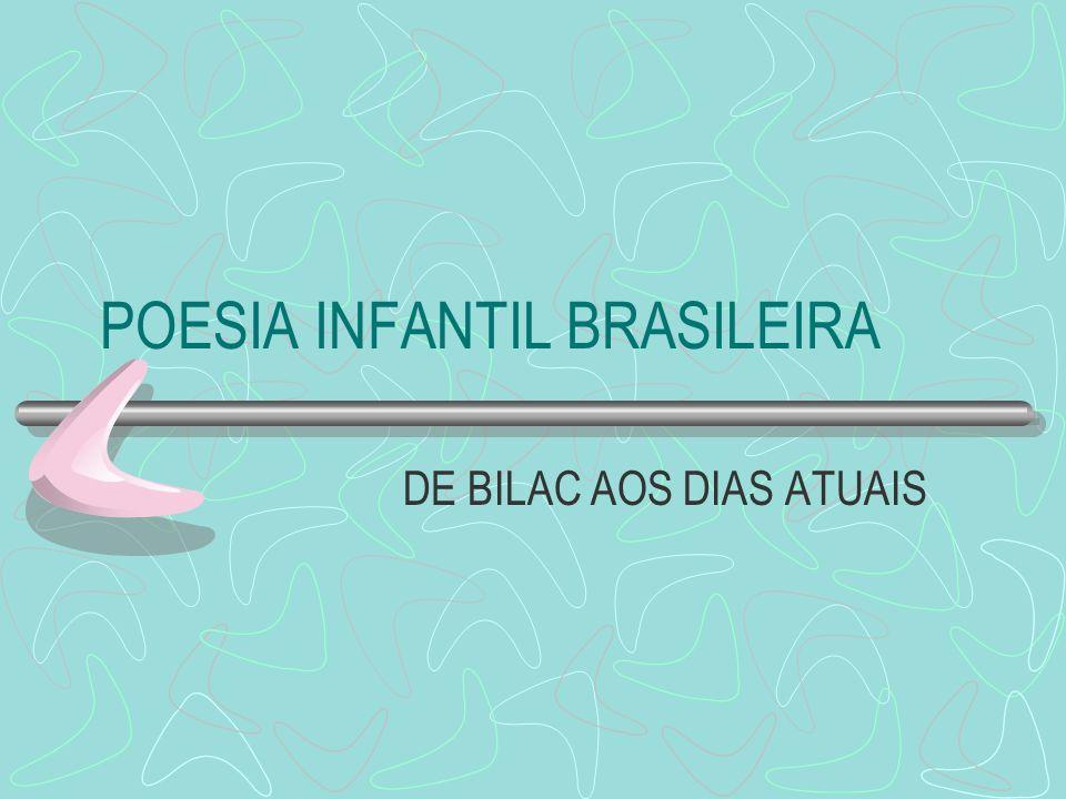 POESIA INFANTIL BRASILEIRA