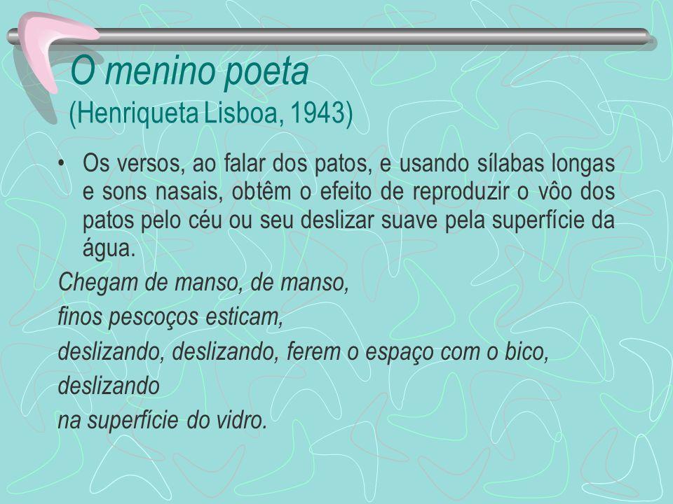 O menino poeta (Henriqueta Lisboa, 1943)