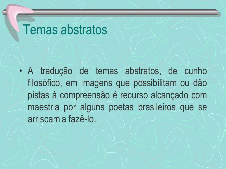 Temas abstratos