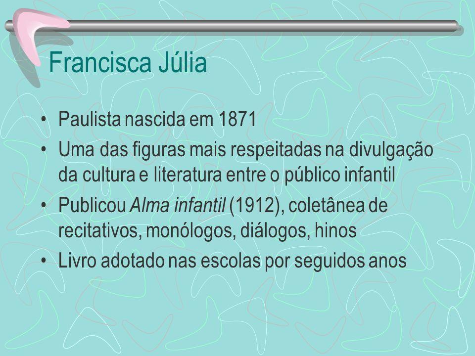 Francisca Júlia Paulista nascida em 1871