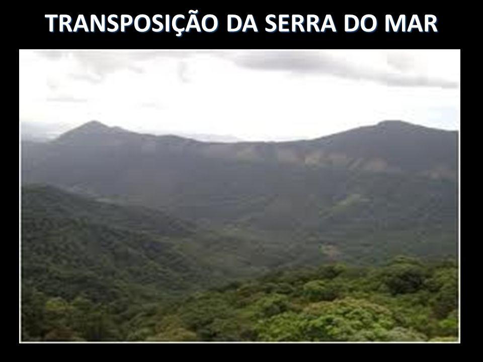 TRANSPOSIÇÃO DA SERRA DO MAR