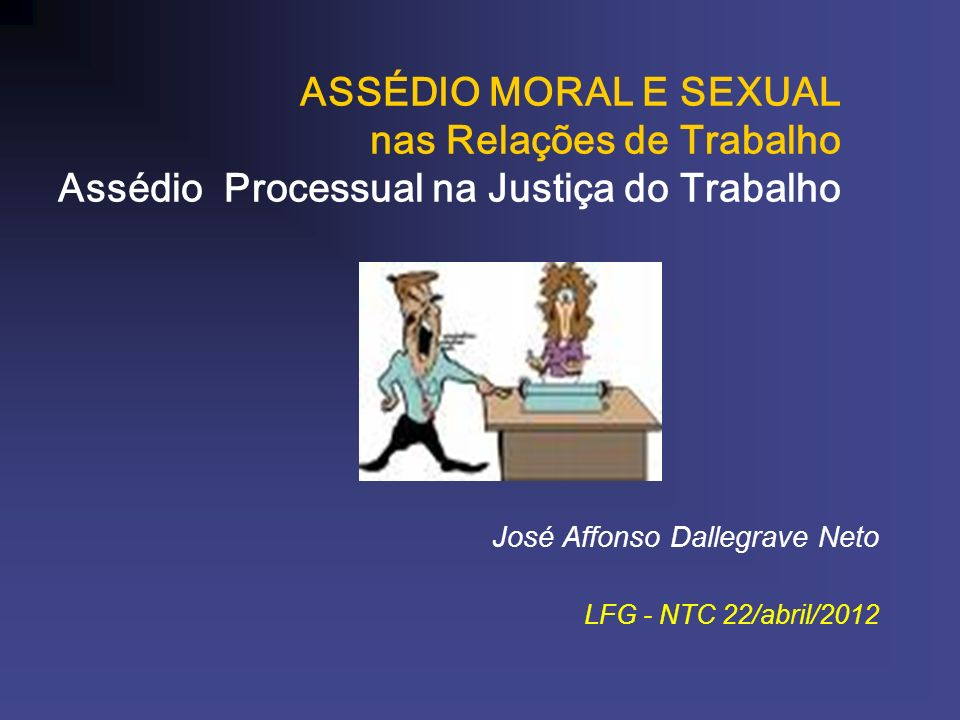 José Affonso Dallegrave Neto LFG - NTC 22/abril/2012