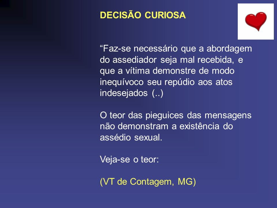DECISÃO CURIOSA