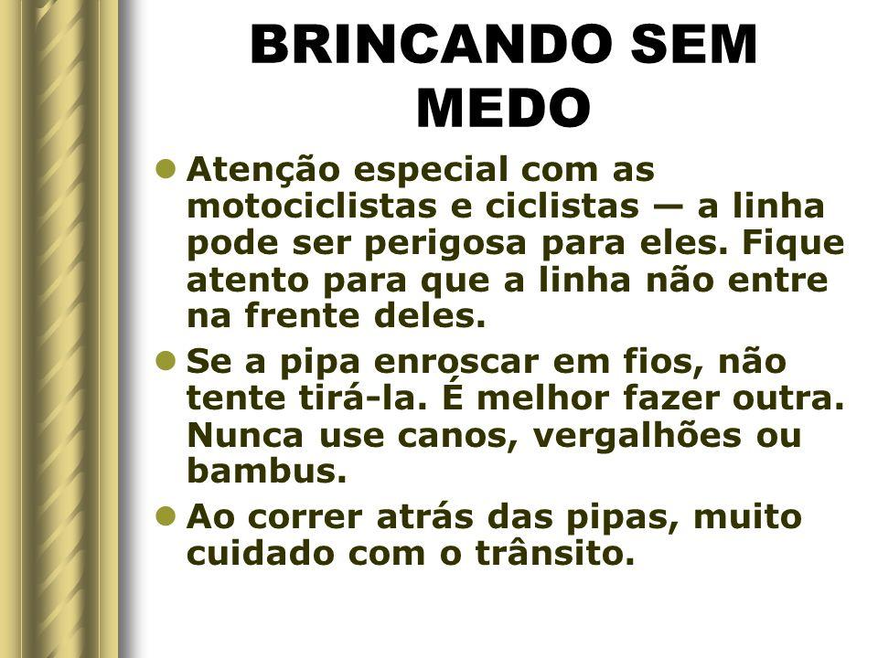BRINCANDO SEM MEDO