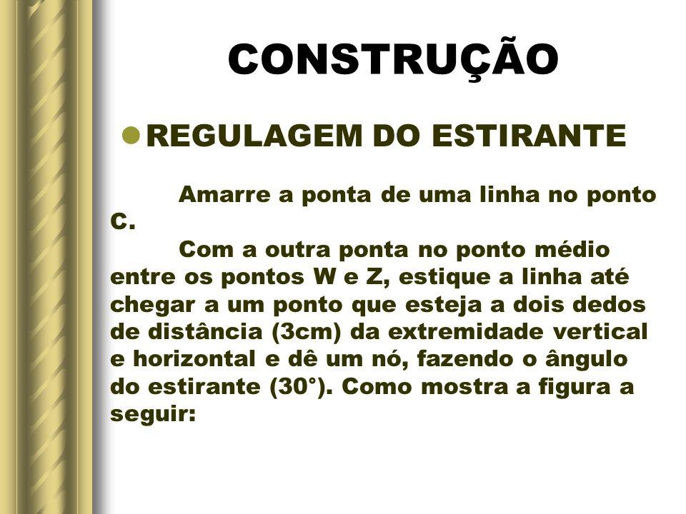 CONSTRUÇÃO REGULAGEM DO ESTIRANTE