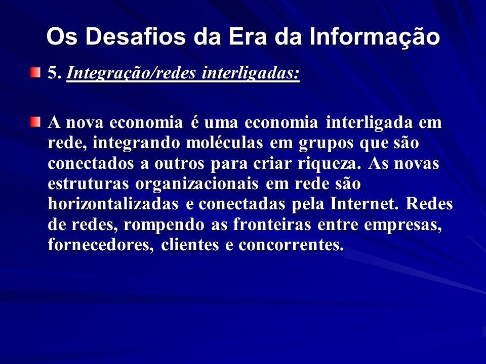 Os Desafios da Era da Informação