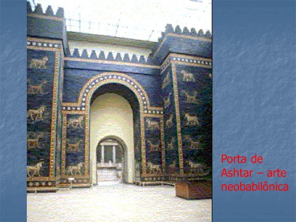 Porta de Ashtar – arte neobabilônica