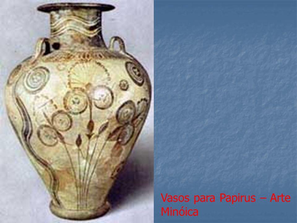 Vasos para Papirus – Arte Minóica