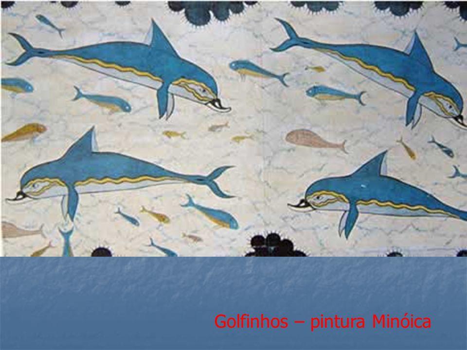 Golfinhos – pintura Minóica