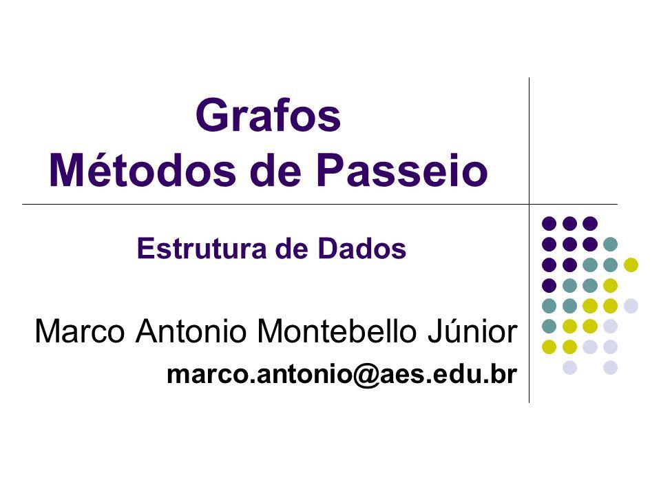 Grafos Métodos de Passeio