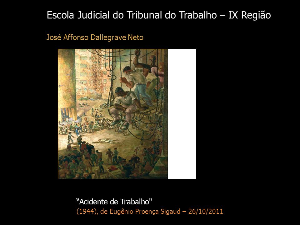 Escola Judicial do Tribunal do Trabalho – IX Região