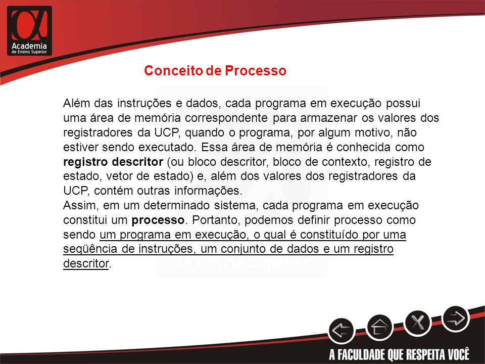 Conceito de Processo