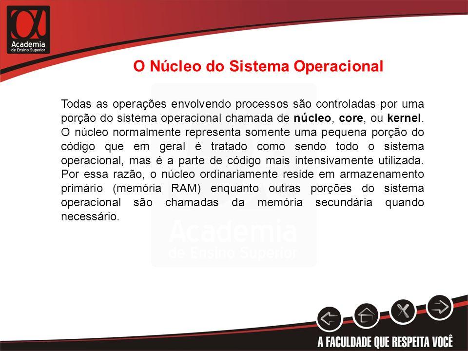 O Núcleo do Sistema Operacional