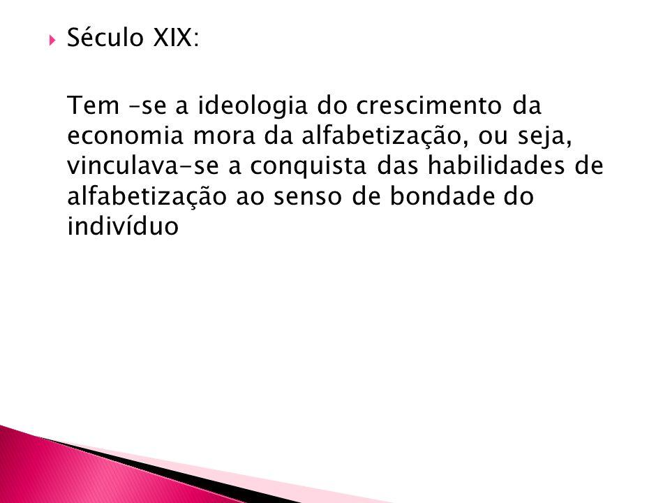 Século XIX: