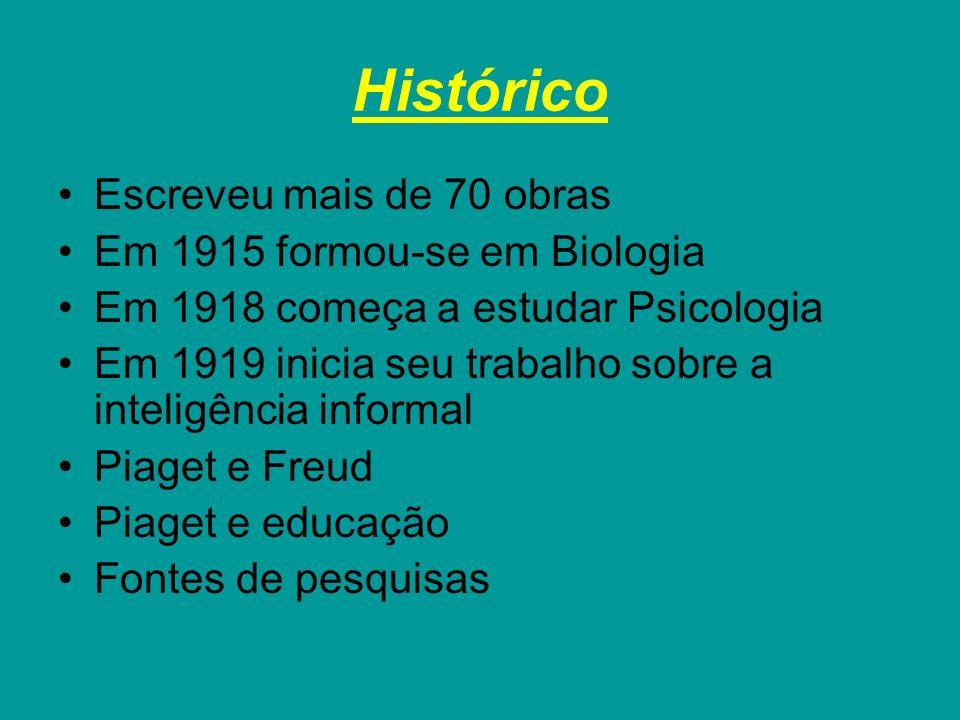 Histórico Escreveu mais de 70 obras Em 1915 formou-se em Biologia