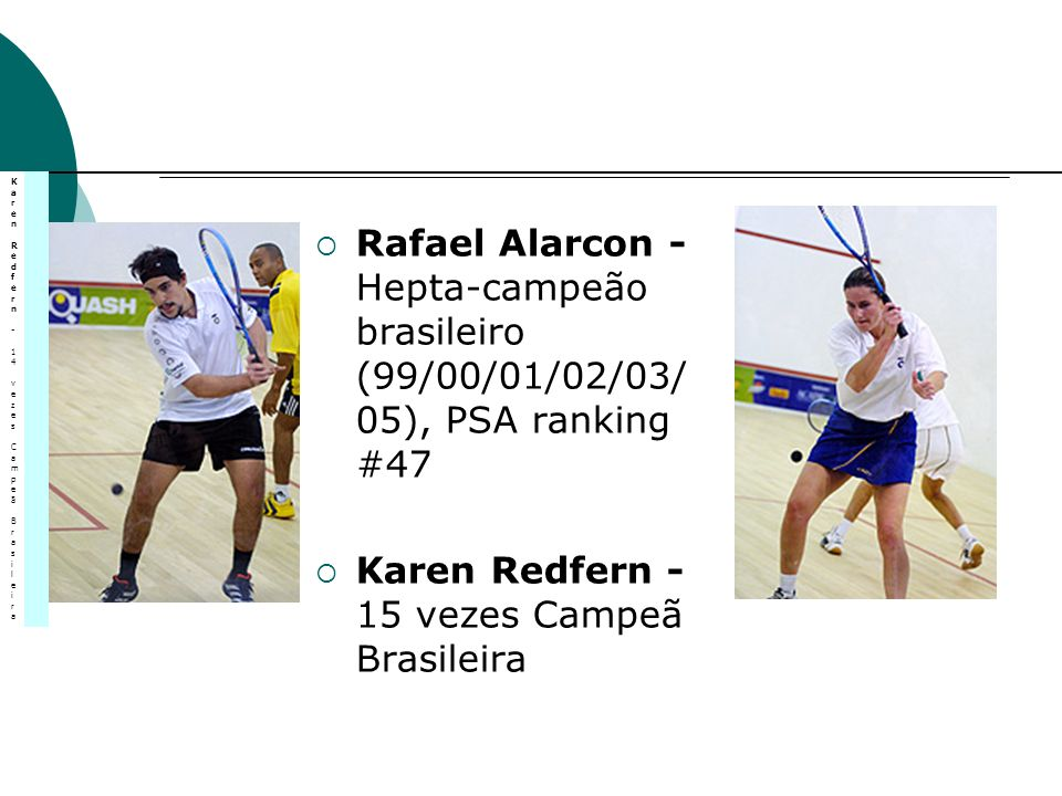 Karen Redfern - 15 vezes Campeã Brasileira