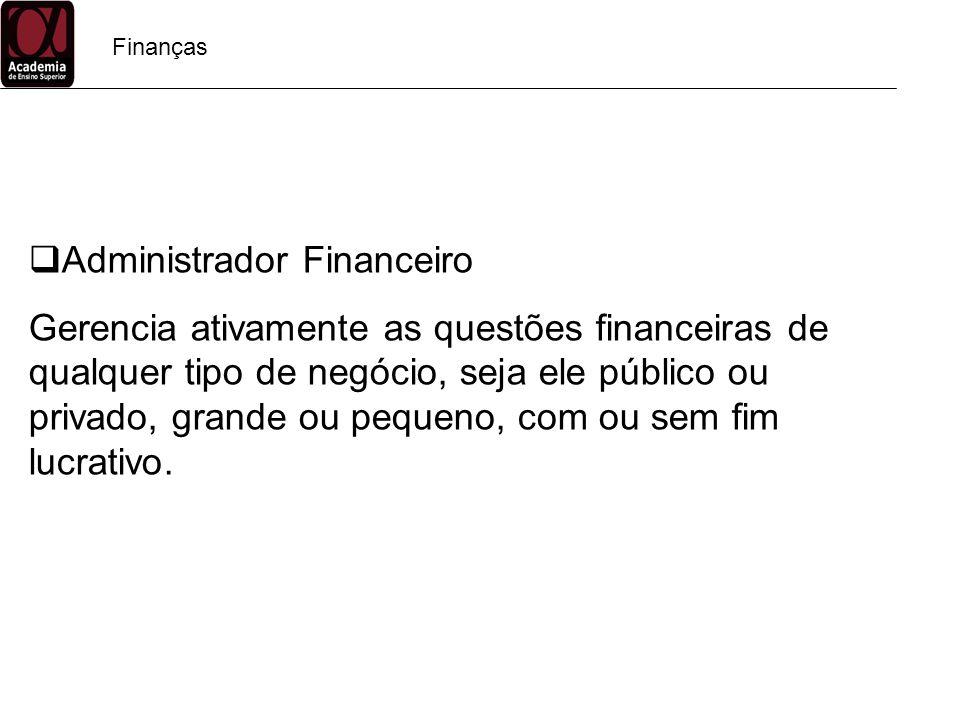Administrador Financeiro