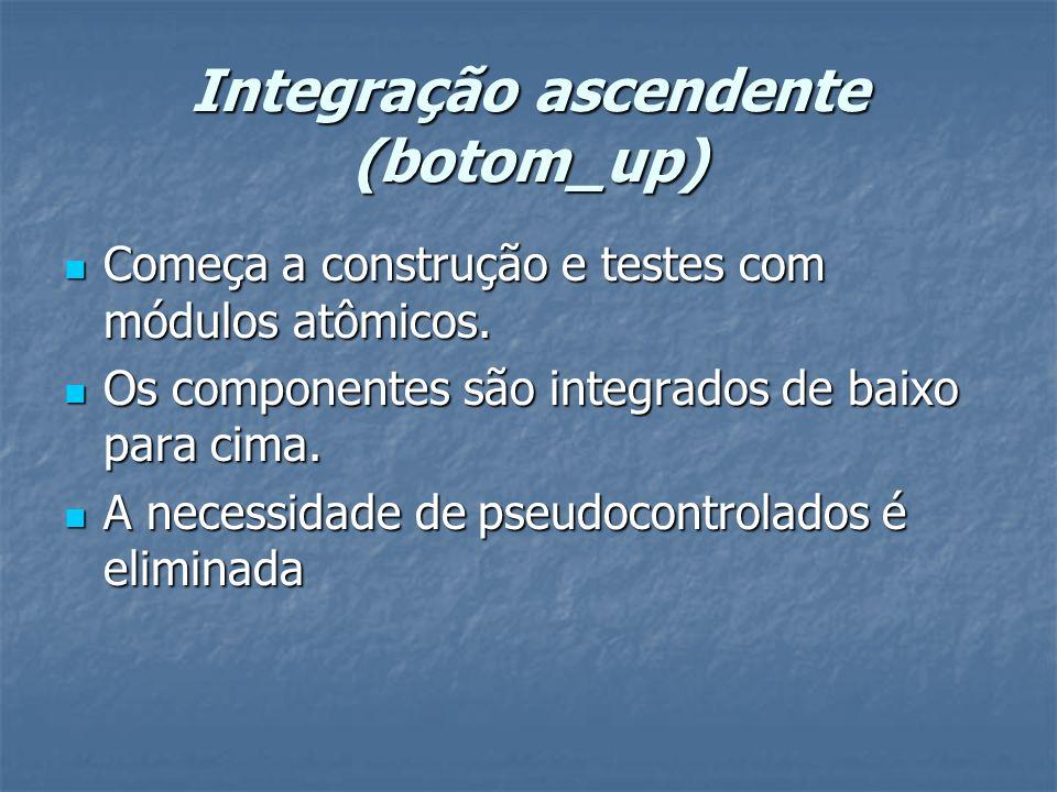 Integração ascendente (botom_up)