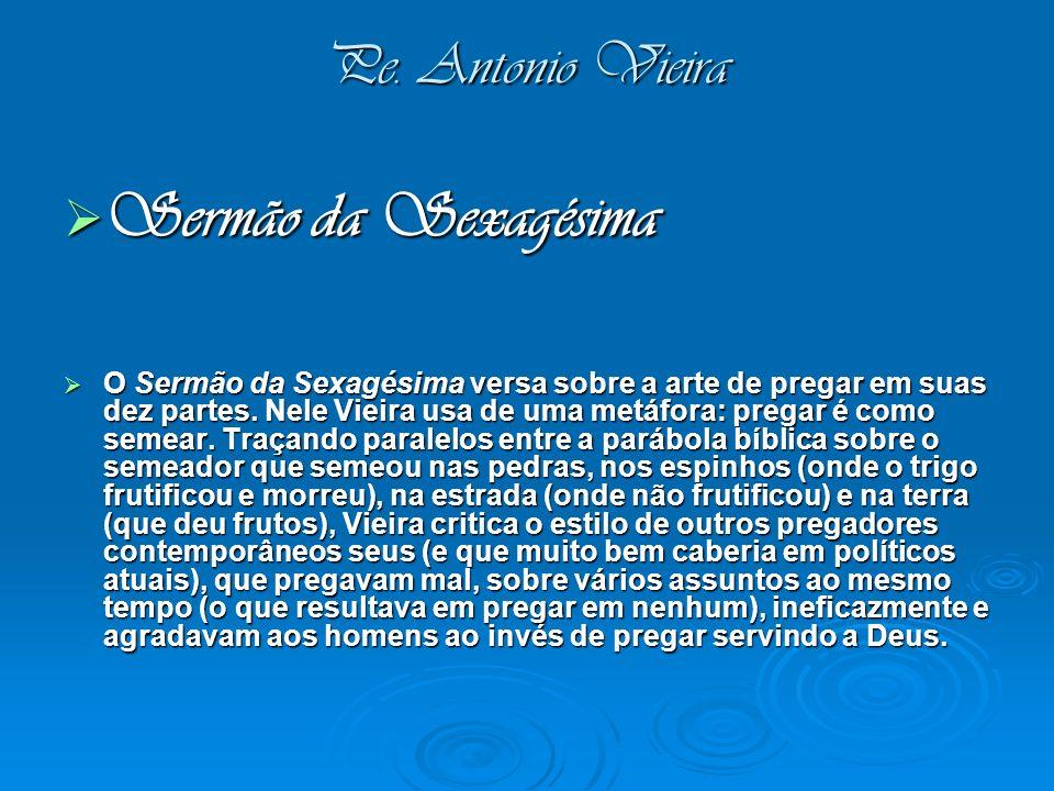 Sermão da Sexagésima Pe. Antonio Vieira