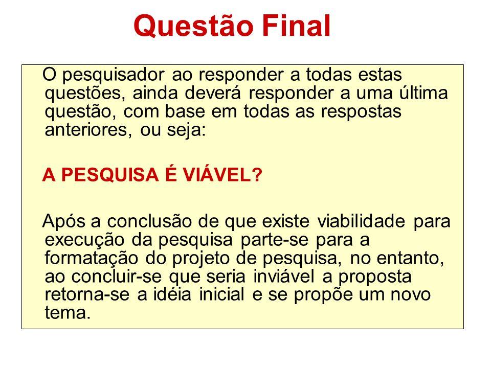 Questão Final