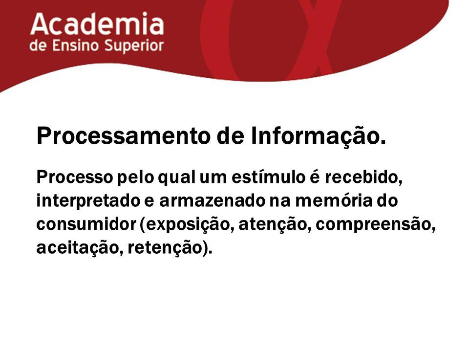 Processamento de Informação.
