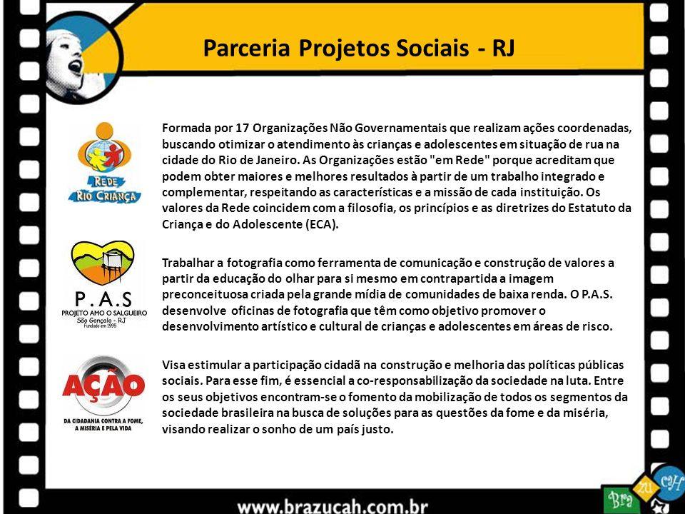 Parceria Projetos Sociais - RJ