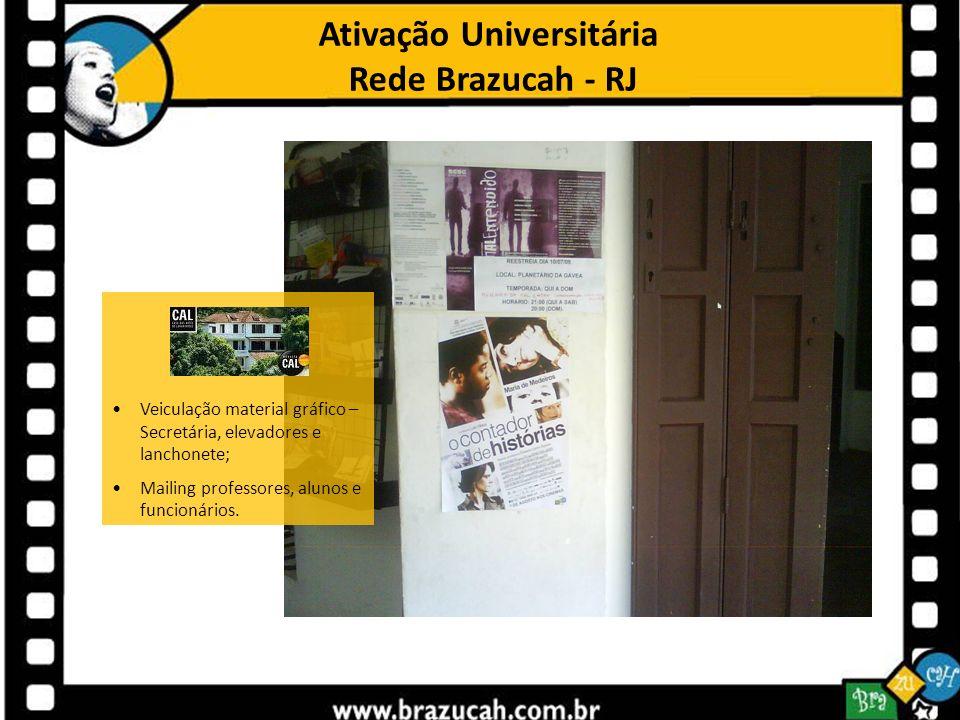 Ativação Universitária Rede Brazucah - RJ