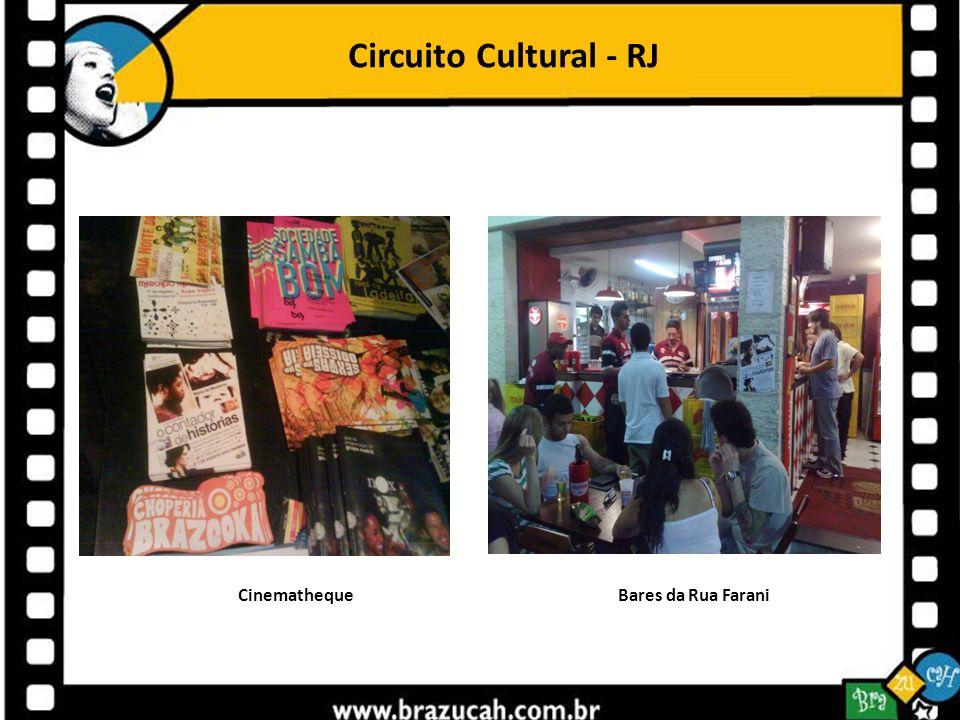 Circuito Cultural - RJ Cinematheque Bares da Rua Farani.