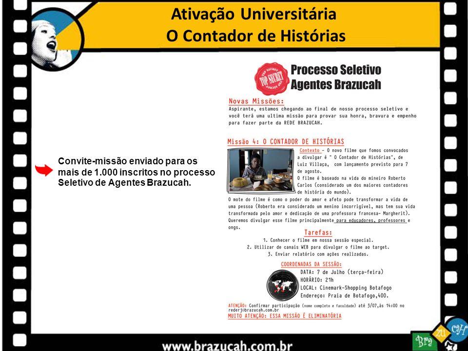 Ativação Universitária O Contador de Histórias
