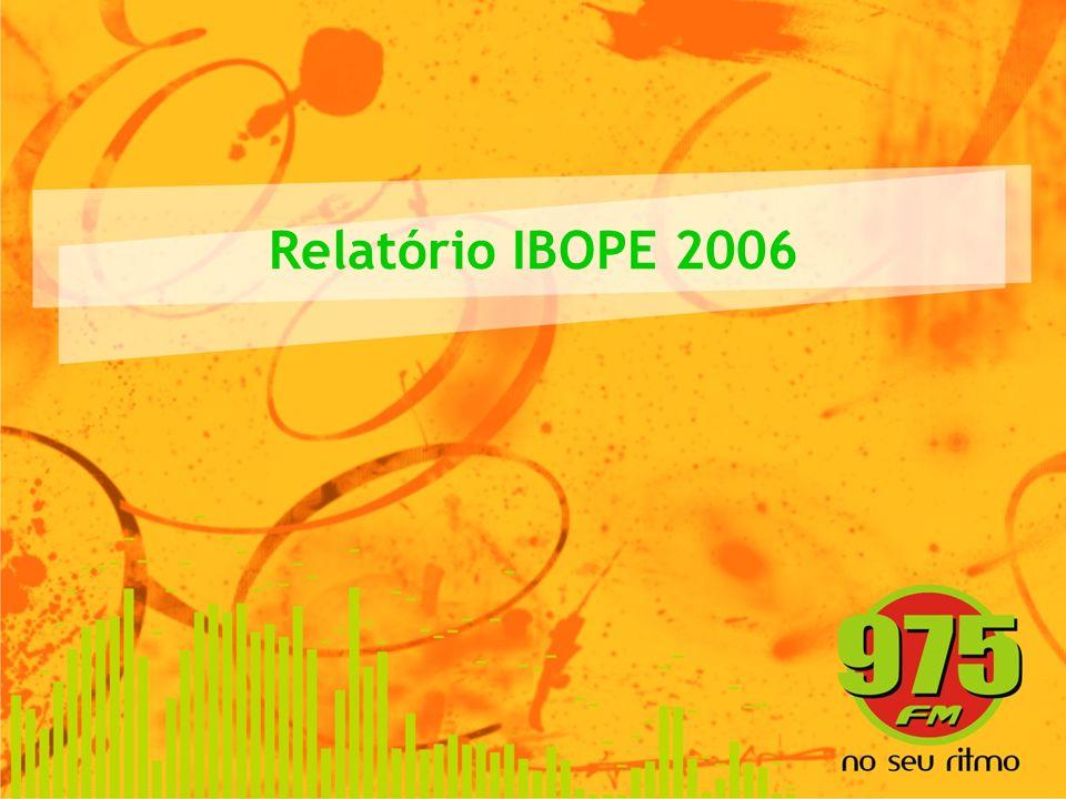 Relatório IBOPE 2006