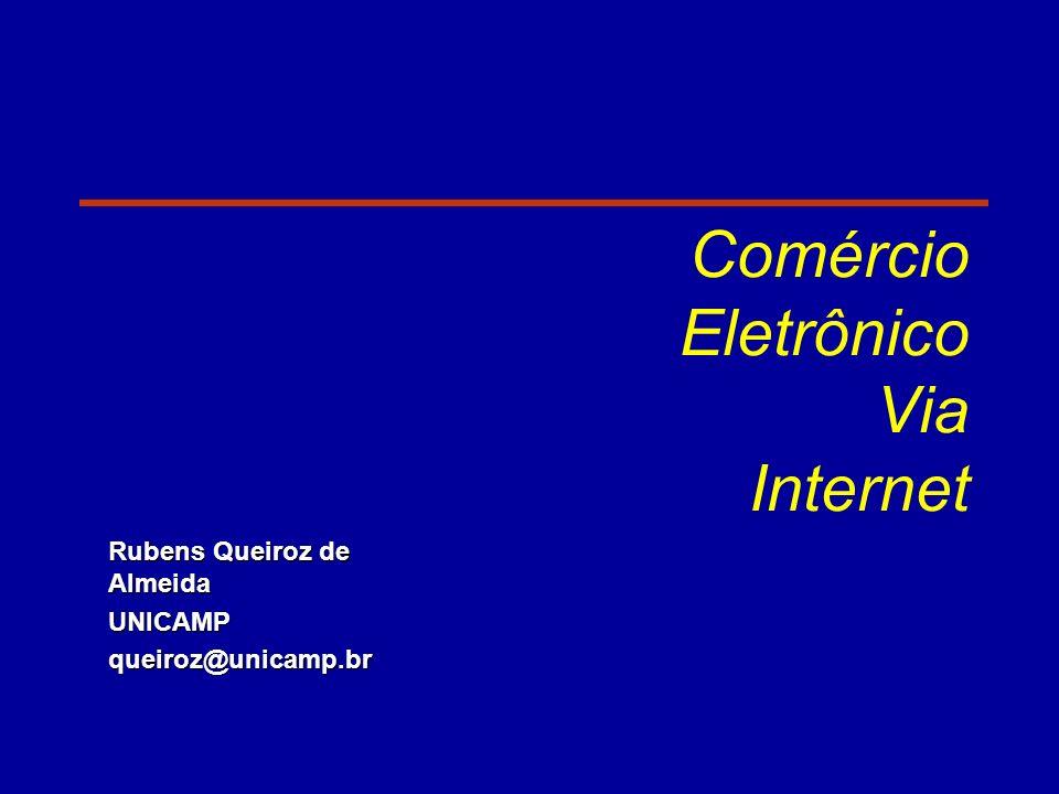 Comércio Eletrônico Via Internet