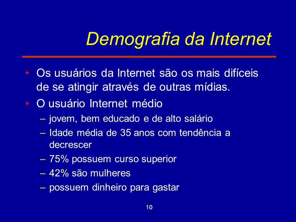 Demografia da Internet
