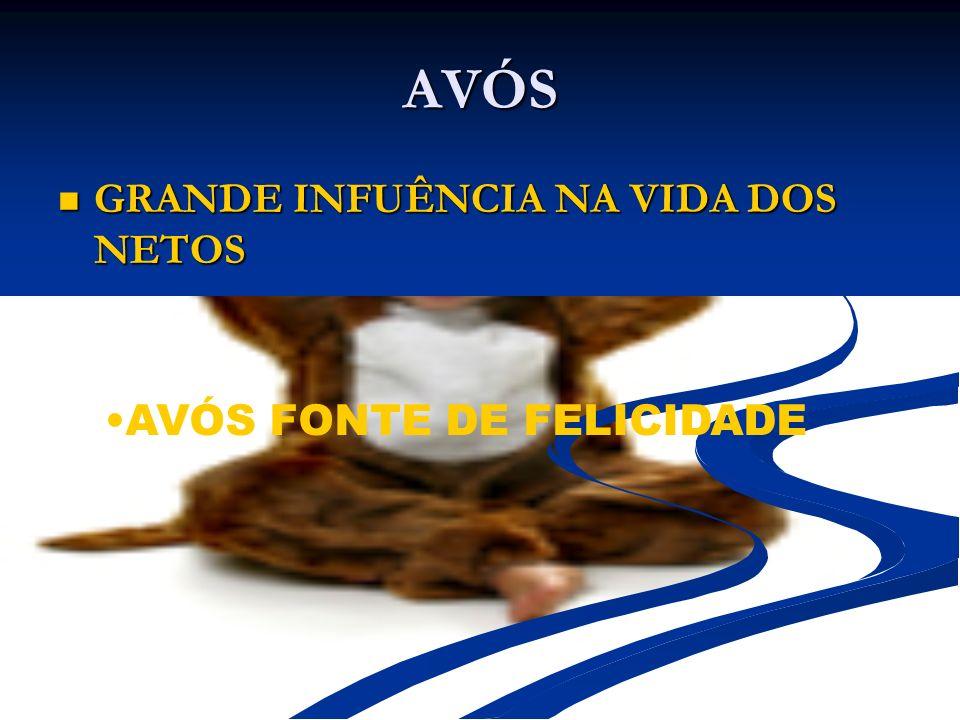AVÓS GRANDE INFUÊNCIA NA VIDA DOS NETOS AVÓS FONTE DE FELICIDADE