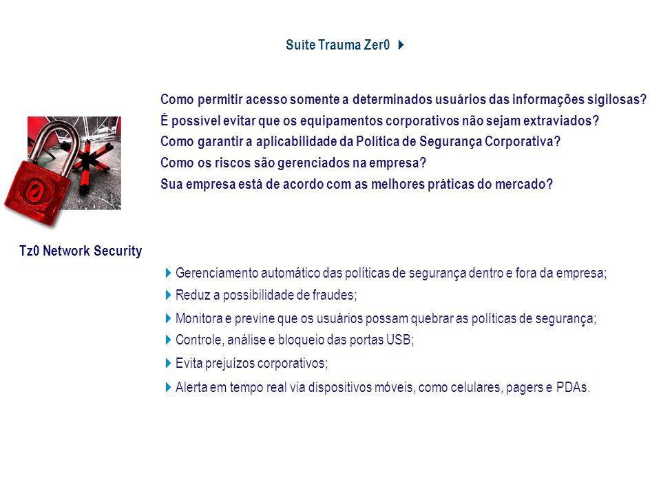 Suíte Trauma Zer0 4 Controle e Segurança da Informação