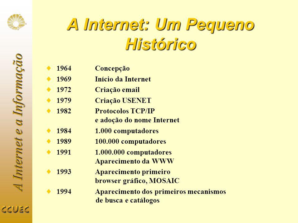 A Internet: Um Pequeno Histórico