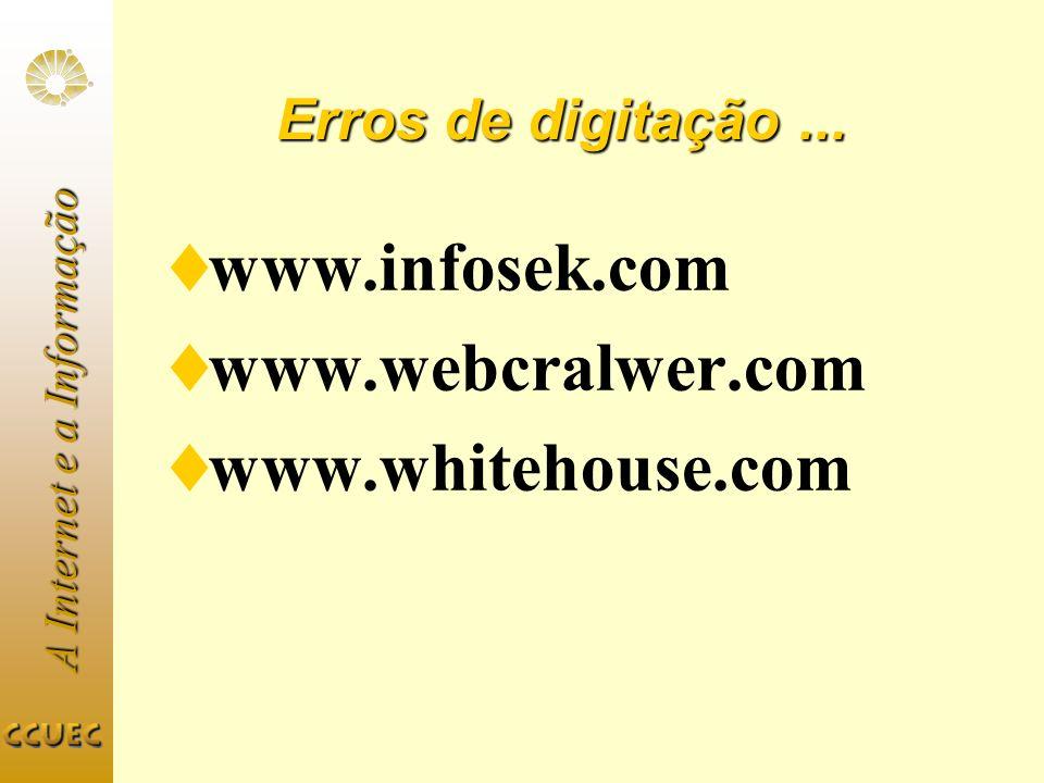 www.infosek.com www.webcralwer.com www.whitehouse.com