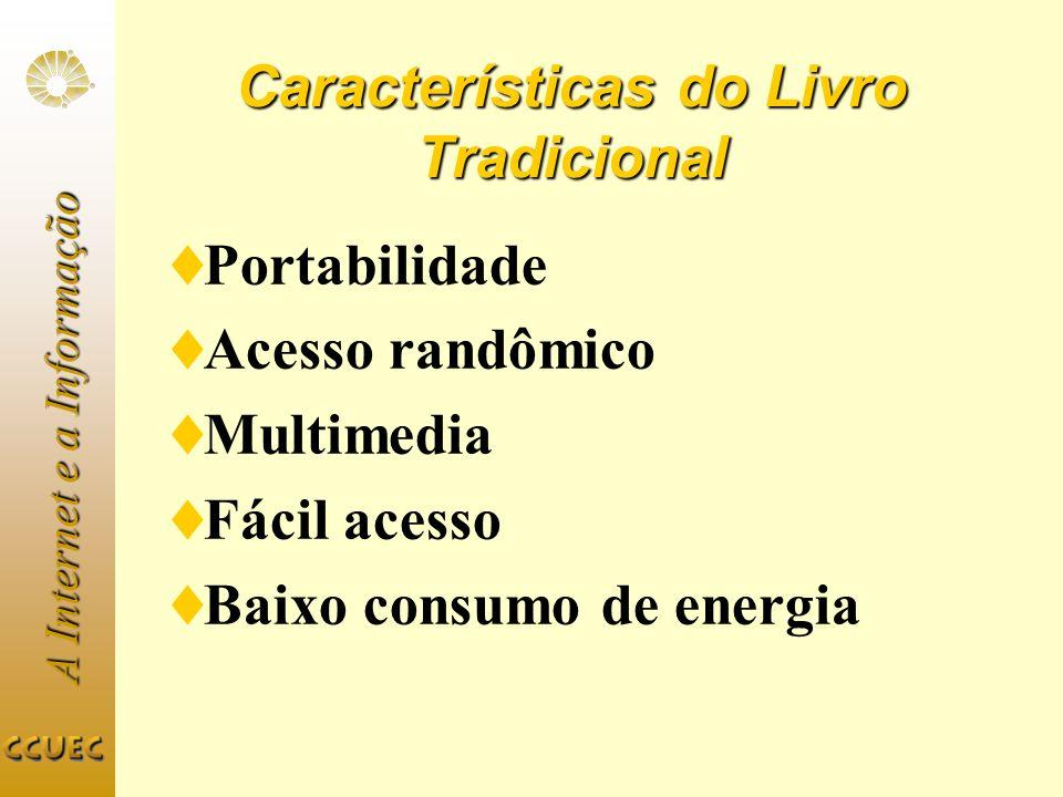 Características do Livro Tradicional