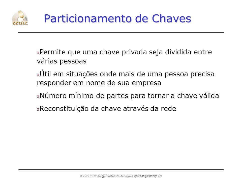 Particionamento de Chaves