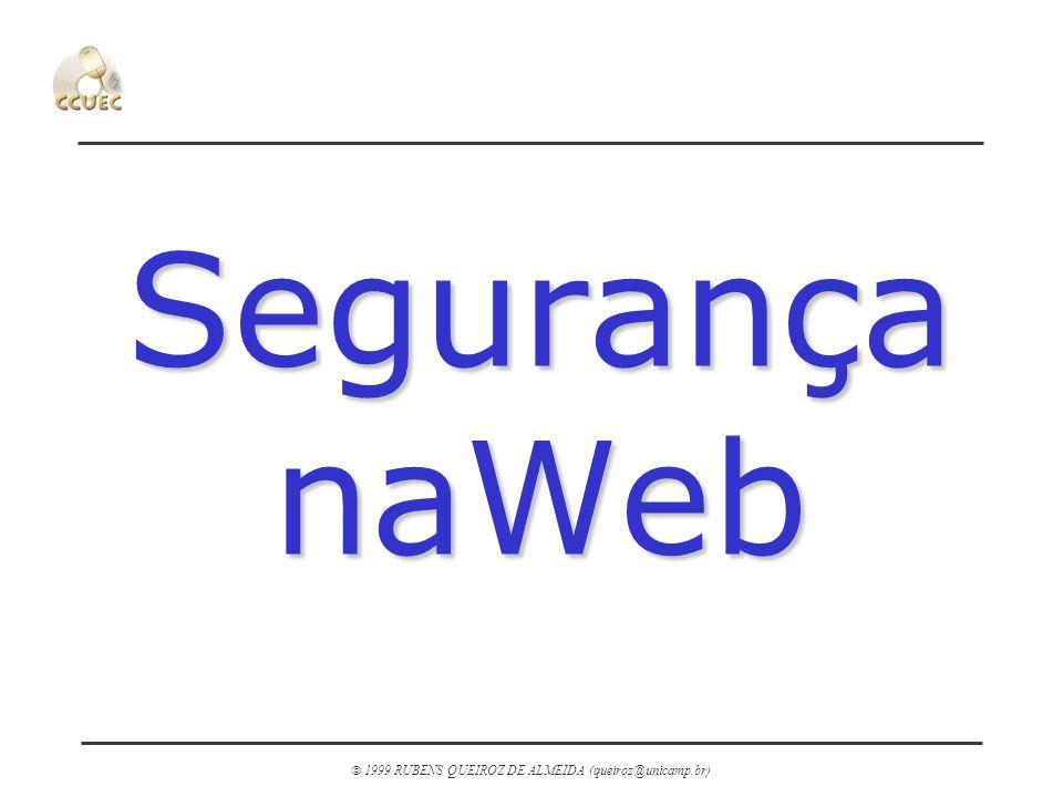 Segurança naWeb