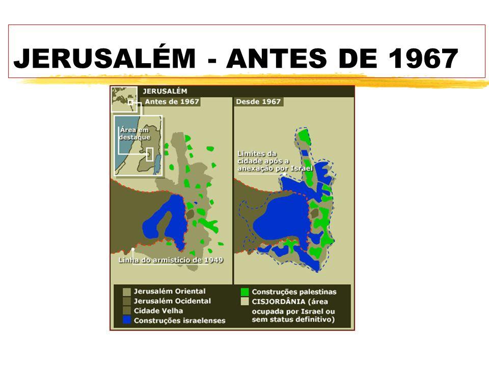 JERUSALÉM - ANTES DE 1967