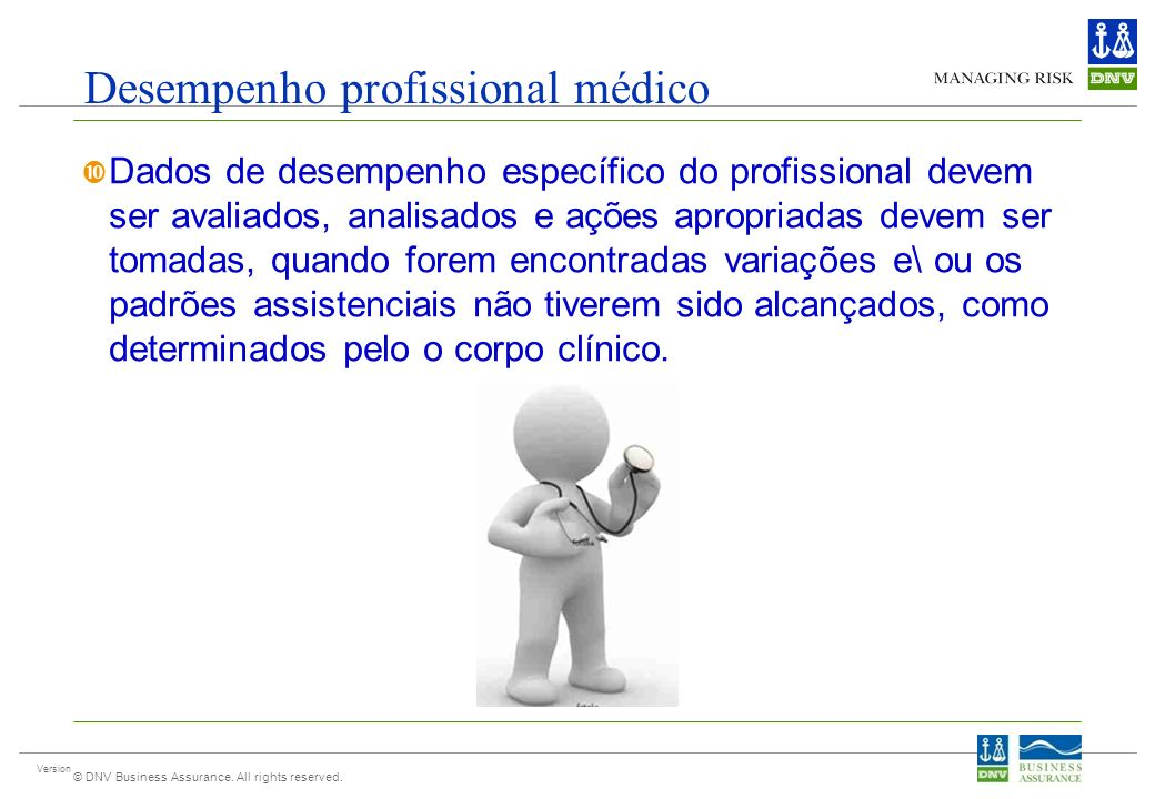 Desempenho profissional médico