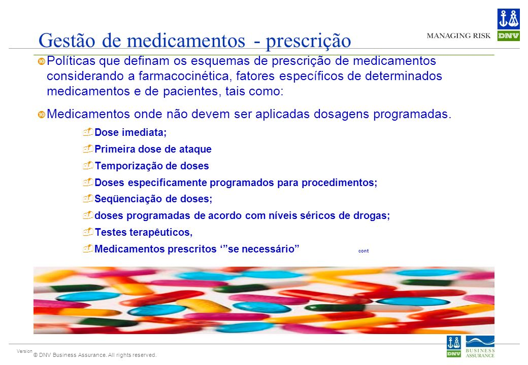 Gestão de medicamentos - prescrição