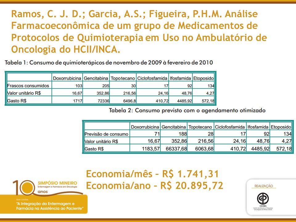 Ramos, C. J. D. ; Garcia, A. S. ; Figueira, P. H. M