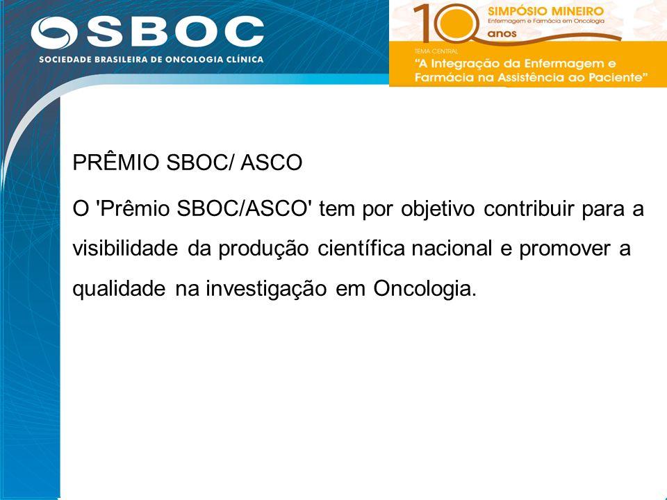 PRÊMIO SBOC/ ASCO