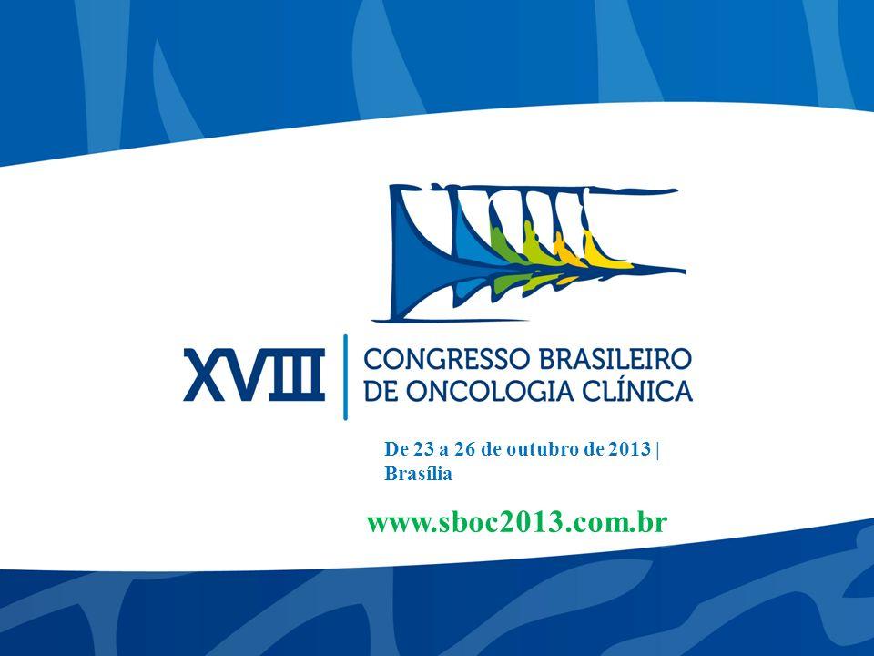 De 23 a 26 de outubro de 2013 | Brasília