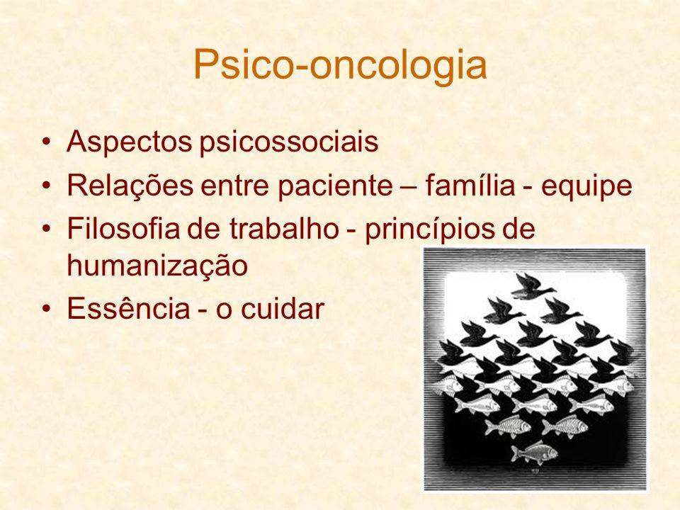 Psico-oncologia Aspectos psicossociais