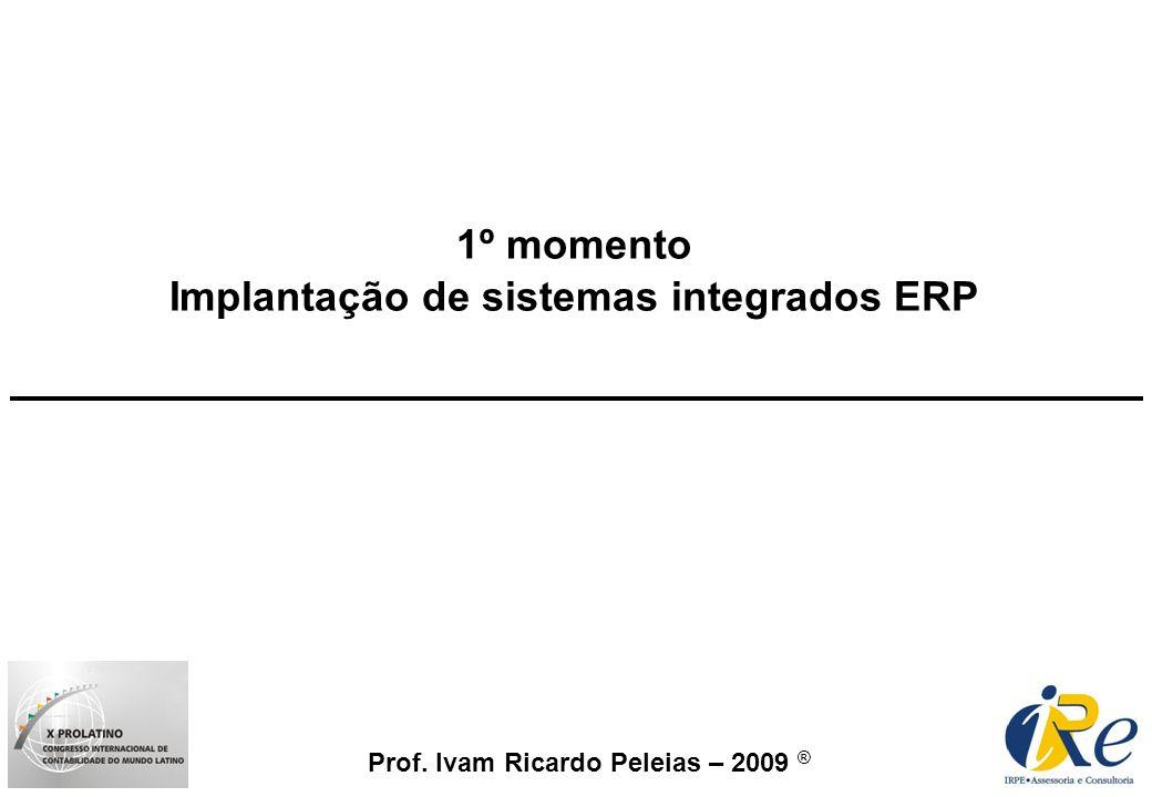 Implantação de sistemas integrados ERP