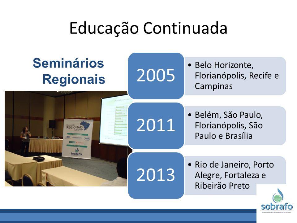 Educação Continuada Seminários Regionais 2005