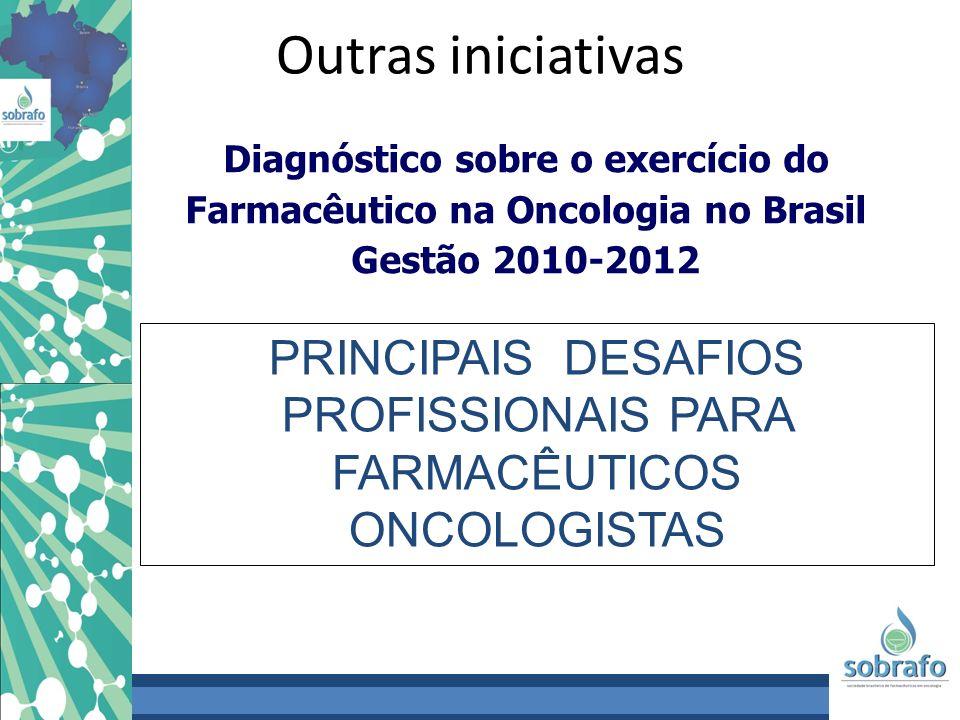 Diagnóstico sobre o exercício do Farmacêutico na Oncologia no Brasil