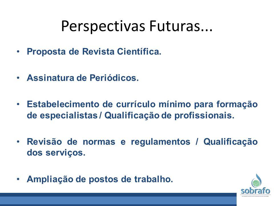 Perspectivas Futuras... Proposta de Revista Científica.